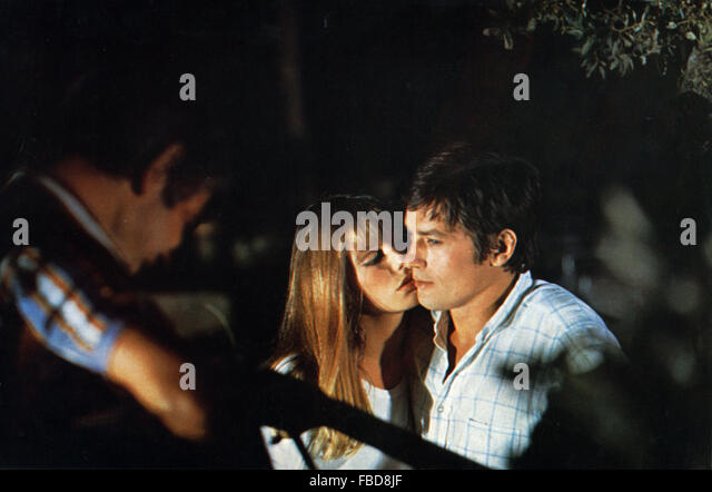 Alain Delon La Piscine Of Jacques Deray Stock Photos Jacques Deray Stock Images