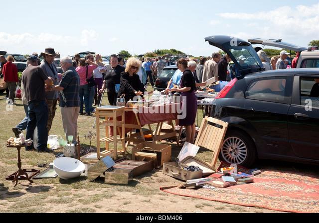 Car Boot Sale Uk Stock Photos Car Boot Sale Uk Stock