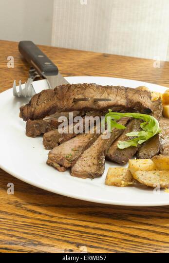 Haute Stoner Cuisine And Steak Sandwich With Arugula And ...