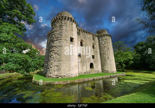 moated castle mespelbrunn