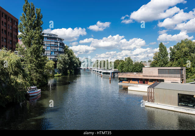 Floating Houses Germany Stock Photos & Floating Houses Germany ...