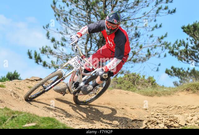 Mountain Bike Race Uk Stock Photos Mountain Bike Race Uk Stock
