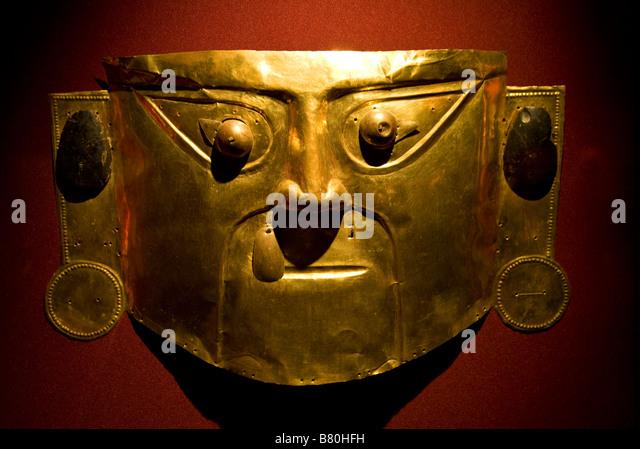 Gold Inca Mask Stock Photos Amp Gold Inca Mask Stock Images