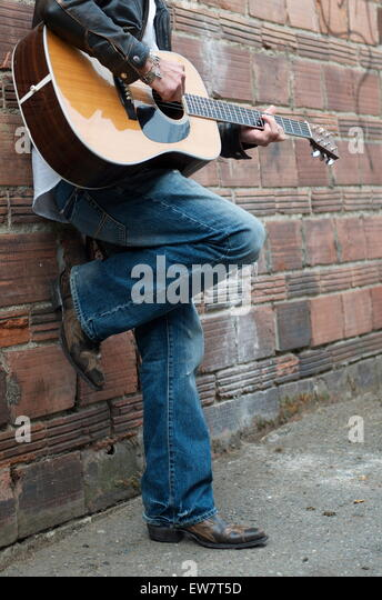 Boots Cowboy Man Stock Photos & Boots Cowboy Man Stock Images - Alamy