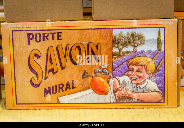Savon stock photos savon stock images alamy - Porte savon mural carrelage ...