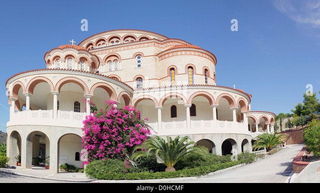 Modern Greek Architecture modern greek stock photos & modern greek stock images - alamy