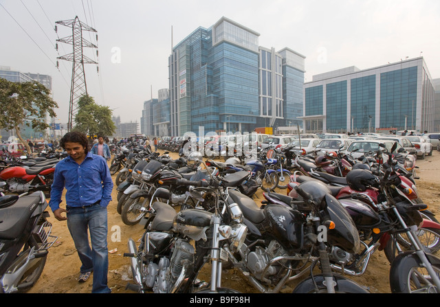 Parking block stock photos parking block stock images for Soil gurgaon