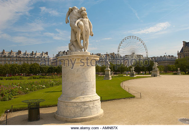 Tuileries park stock photos tuileries park stock images alamy - Statues jardin des tuileries ...