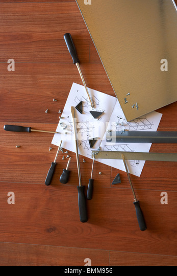 Self assembly stock photos self assembly stock images alamy - Diy tips assembling flat pack furniture ...