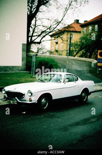 Sixties Berlin Mariendorf volvo p 1800 stock photos volvo p 1800 stock images alamy