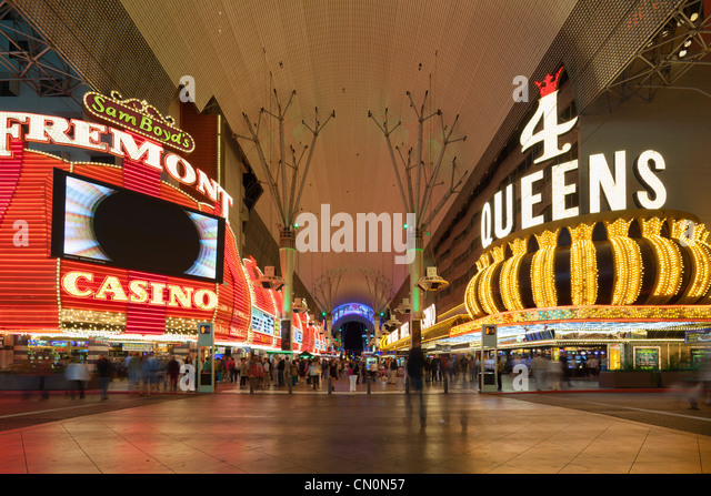 Fremont Street, Las Vegas   Stock Image