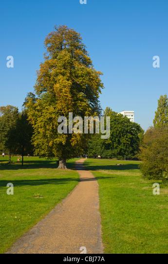 Kensington Park Gardens Stock Photos Kensington Park