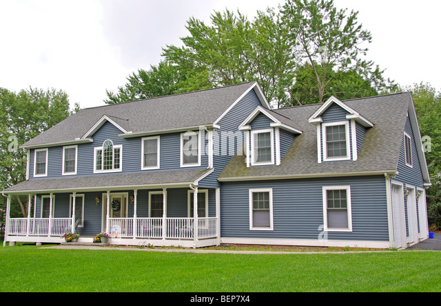 Dutch Colonial Style House New Stock Photos Dutch Colonial Style
