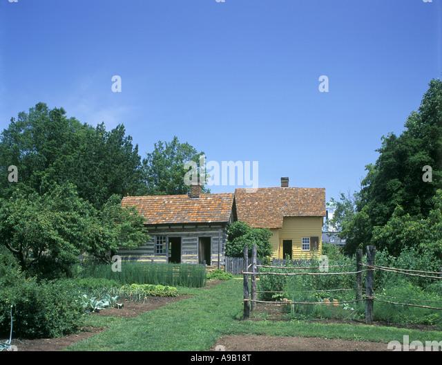 Old salem colonial village stock photos old salem for Olive garden winston salem nc