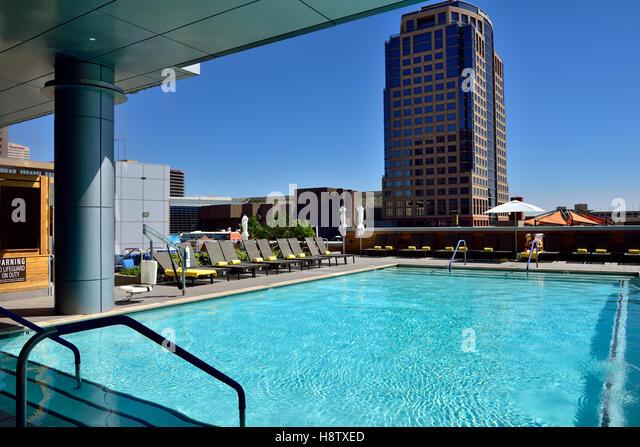 Palomar hotel stock photos palomar hotel stock images alamy for Phoenix swimming pool white city