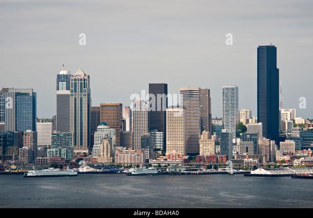 Seattle Washington International District Stock Photos