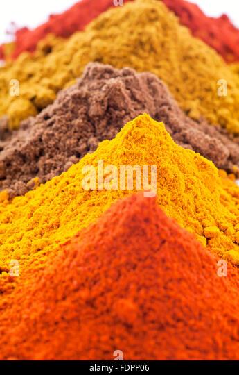 Turmerics stock photos turmerics stock images alamy for 7 spices asian cuisine