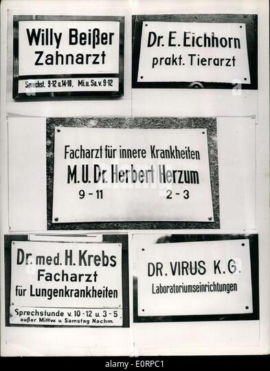 18 1960 - These door placards show that it\u0027s all in the name