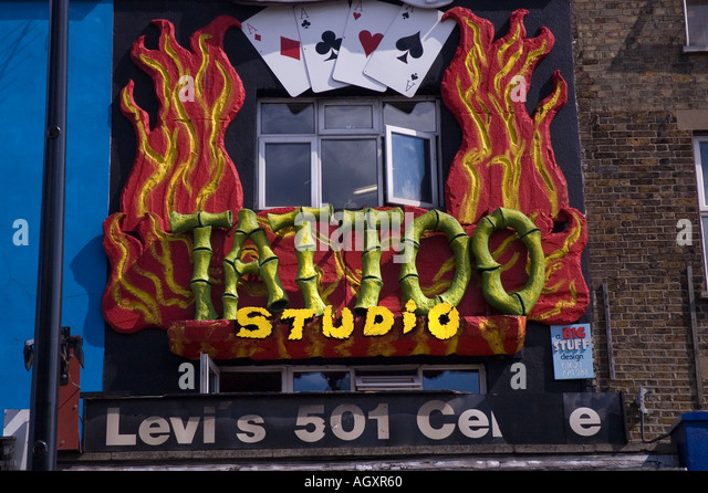 Tattoo parlor stock photos tattoo parlor stock images for Tattoo shops in london