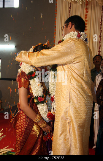 A Hindu Wedding Ceremony In India