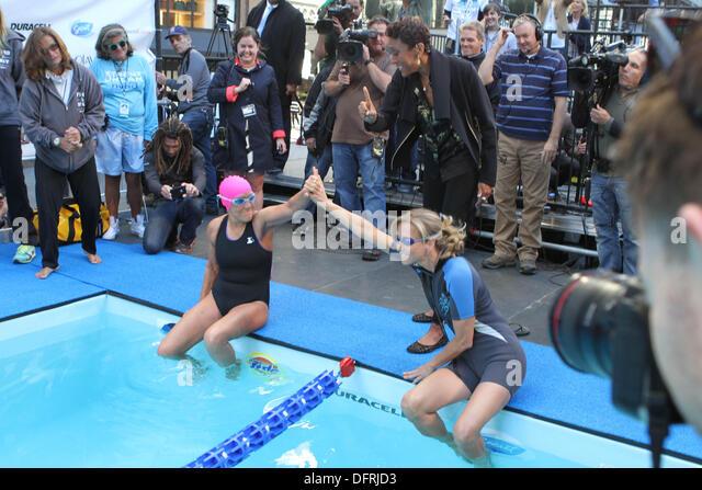 Good Morning America Usa Swimming : Lara spencer swimming pixshark images