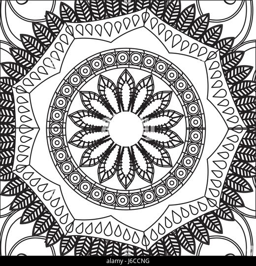 Flower Mandala Stock Photos & Flower Mandala Stock Images - Alamy