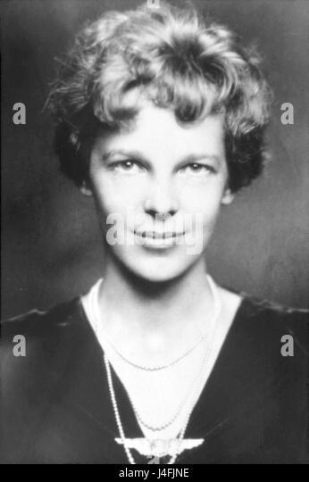 Amelia Earhart - Stock Image