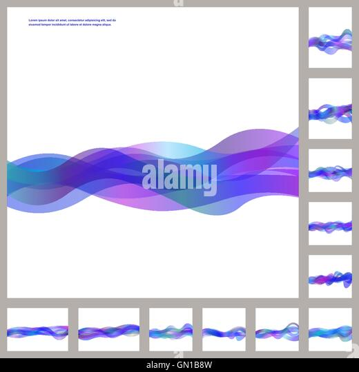 blue and purple wavy - photo #46
