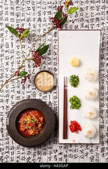 Korean Cuisine Salted Fermented Fish Seafood Stock Image