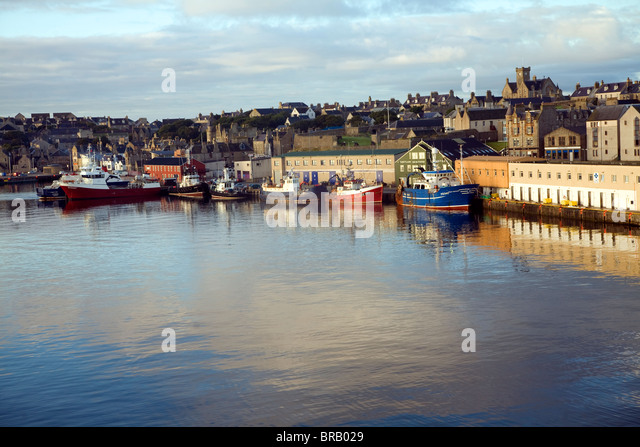Lerwick Town Shetland Islands Stock Photos Lerwick Town