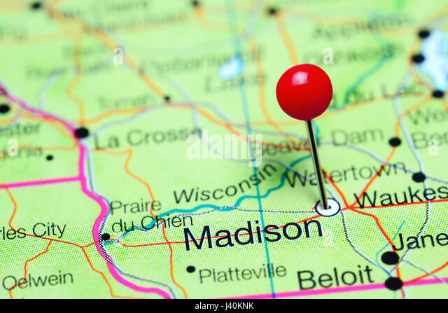 Map Of Wisconsin Stock Photos Map Of Wisconsin Stock Images Alamy - A map of wisconsin