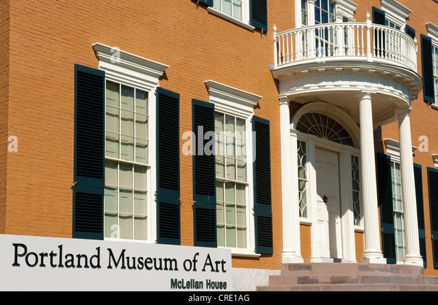 Portland museum stock photos portland museum stock for Portland art museum maine