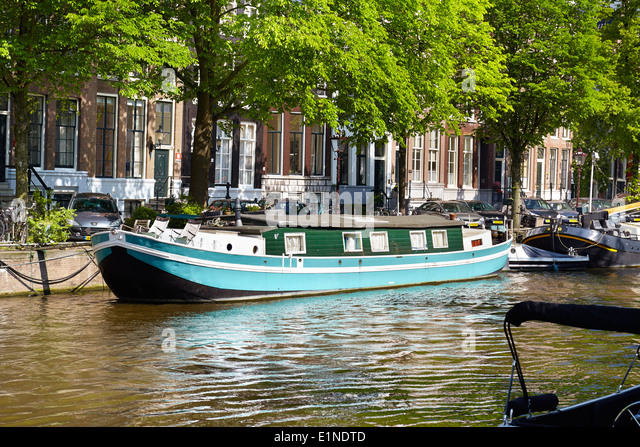 Canal Houseboat