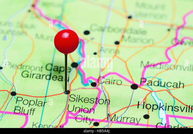 Missouri Map Stock Photos Missouri Map Stock Images Alamy - Missouri in usa map