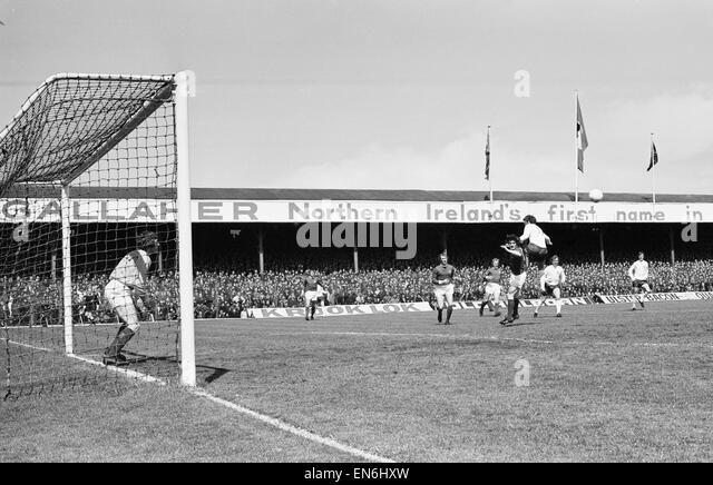 British Home Championship Match At Windsor Park Belfast Northern Ireland 0 V England 1