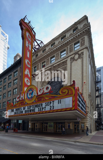 A collection of photos of Chicago-area movie theatres.