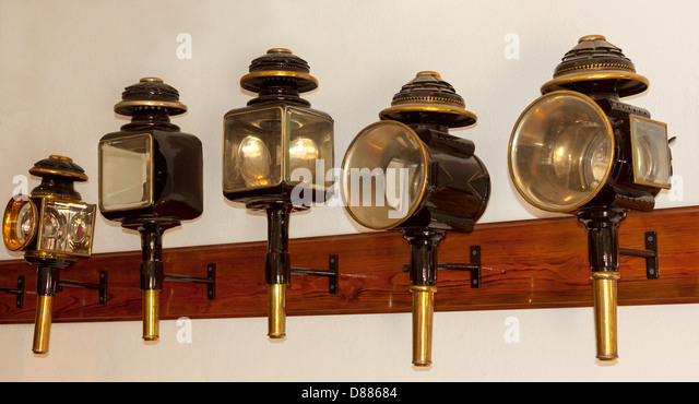 Carriage l&s exhibition in a coachhouse in Museum of the Mazovian Countryside in Sierpc Poland & Carriage Lamps Stock Photos u0026 Carriage Lamps Stock Images - Alamy azcodes.com