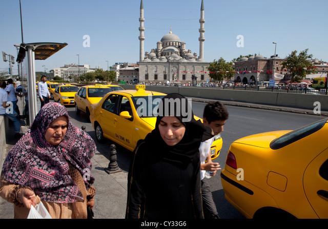 Istanbul turkey women