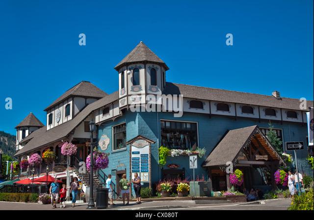 Washington State Leavenworth Bavarian Stock Photos