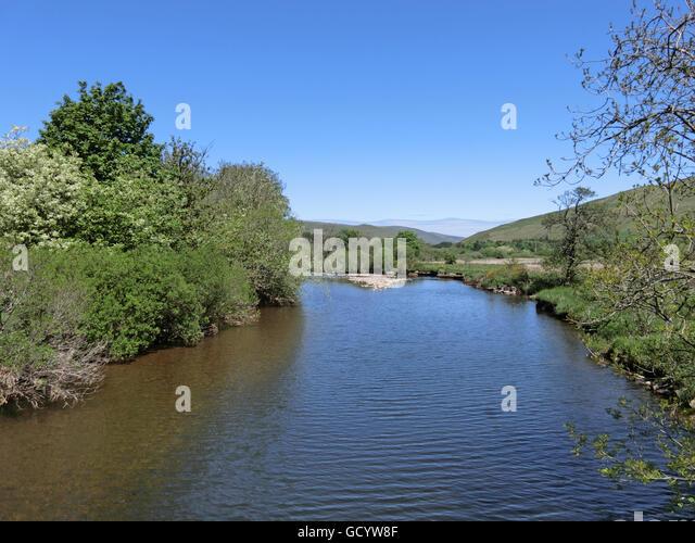 Scotland Scenic River Ettrick Stock Photos &- Scotland Scenic River ...