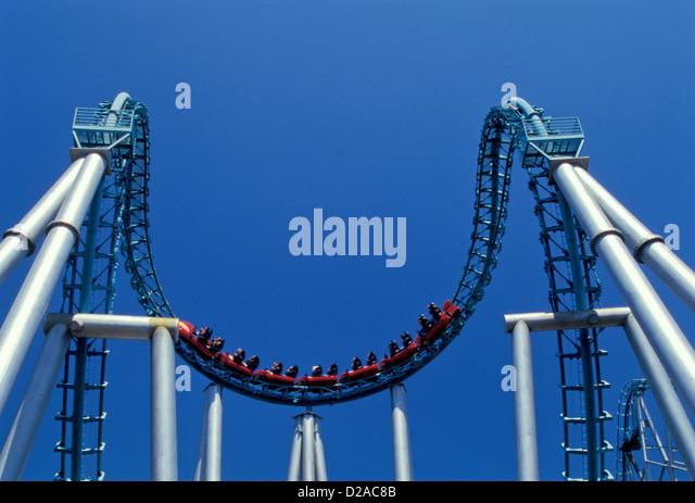 Busch Gardens Roller Coaster Stock Photos Busch Gardens Roller Coaster Stock Images Alamy