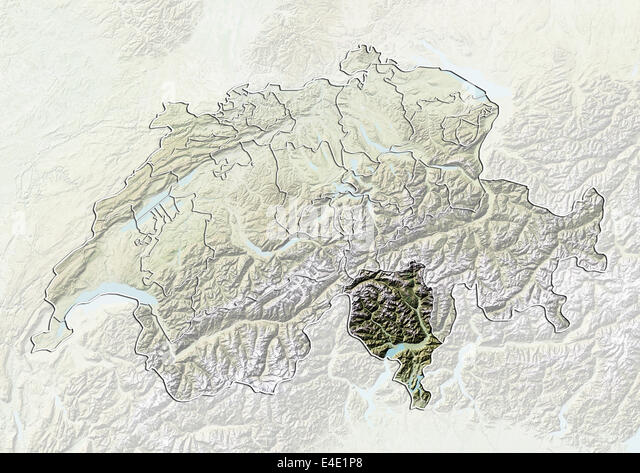 Map Ticino Stock Photos Map Ticino Stock Images Alamy