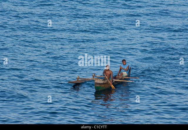 Madagascar Indian Ocean Off The Coast Of Island Nosy Be Local