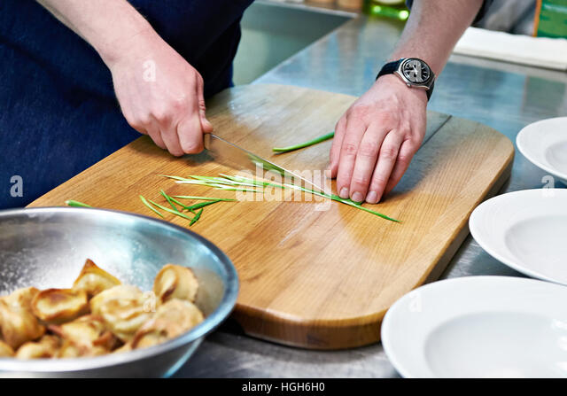Appetizers chef stock photos appetizers chef stock for Canape serving dishes