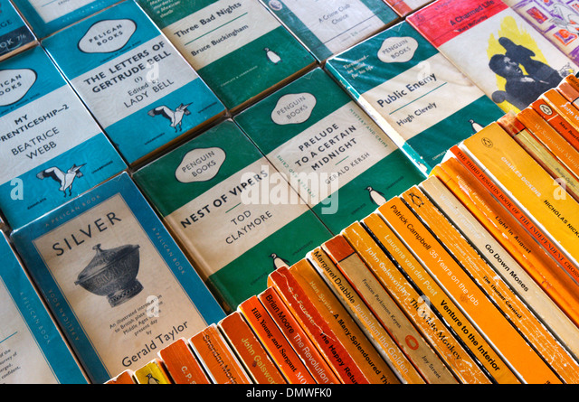 Penguin Book Cover Vector : Penguin books stock photos images