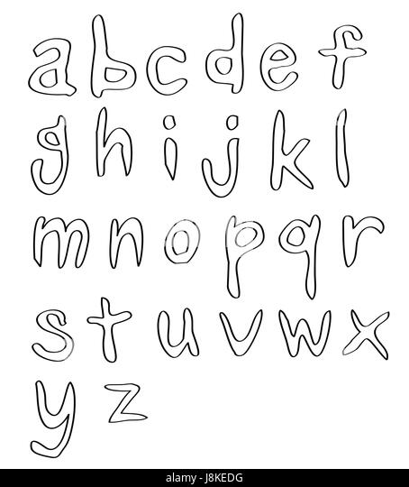 Letters Sketch Photo Picture Image Copy Deduction Handwriting