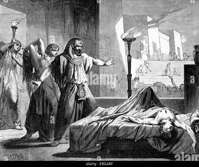 """plague on the firstborn from exodus Exodus 11 new international version the plague on the firstborn 1 now the lord had said to moses, """"i will bring one more plague on pharaoh and on egypt."""