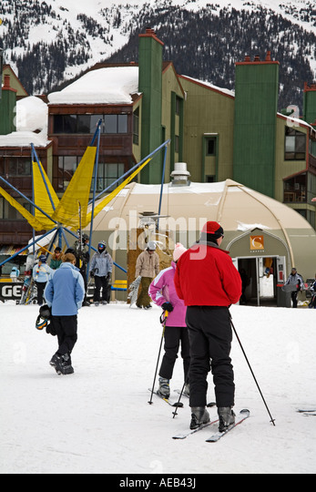 Copper Mountain Ski Resort Rocky Mountains Colorado USA   Stock Image