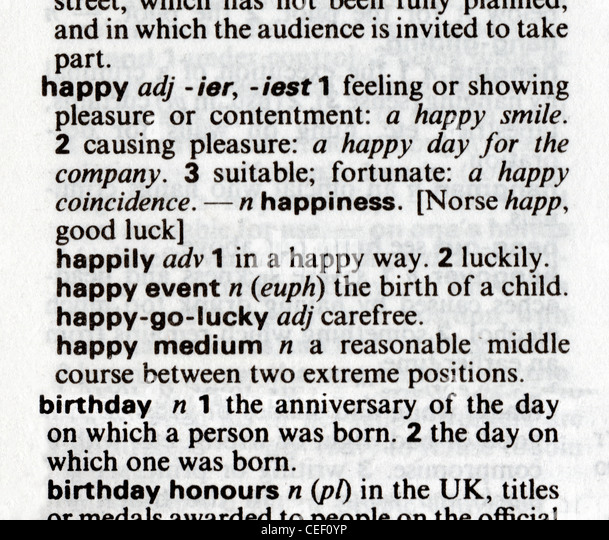 Gay and happy appear in dictionaries as