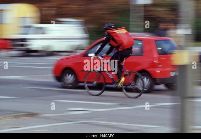 Bike Messenger Blur Stock Photos Bike Messenger Blur Stock